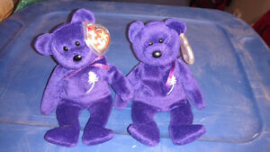 Princess Beanie Baby 1st and 2nd Generations Ex Condition