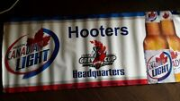 Hooters Grey Cup Banner