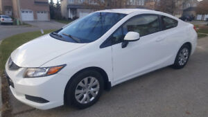 2012 Honda Civic LX Coupe (2 door)...WITH WINTER TIRES