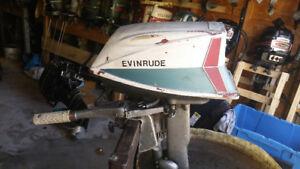 Evinrude fisherman 5 1/2hp NEW LOWER  PRICE