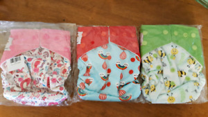 14 Brand new cloth diapers