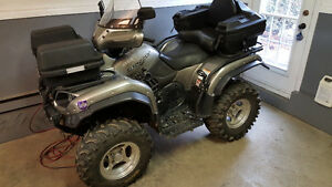 Yamaha Grizzly 660 Silver Tip Special Edition