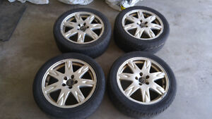 """Volvo 17"""" RIMS - 5 hole bolt pattern - $225 for all four"""