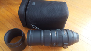 Sigma DG 150-500mm f5-6.3 APO HSM OS for Nikon