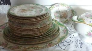 Antique Dishes Circa 1880