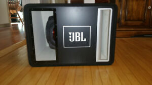 "JBL Grand Touring Series  12"" subwoofer with bandpass enclosure"