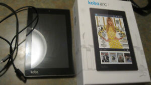 Kobo Arc 7 T647 8GB, Wi-Fi, 7in - Black Android Tablet eReader
