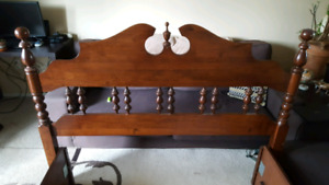 Headboard and Double Bed footboard and frame