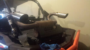 Rzr 1000 Gibson dual exhaust (2014)
