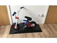 Bmx mini rocker and ramp