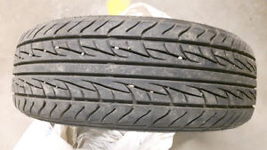 215/65R16 tires with aluminum rims  from a Dodge Caravan 2003
