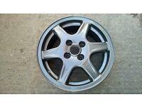 Vw bbs 15inch alloy wheels
