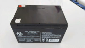 12 V Replacement battery