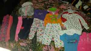 size 12 month baby girl clothing