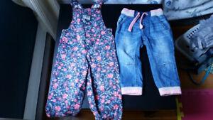 Lot 5 vêtements d'été pour petite fille de 18 à 24 mois