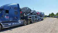 CAR CARRIER 2002 KENORTH WITH 2005 MILLER 7 CARS SELF CONTAINED