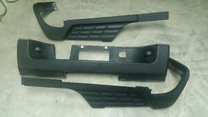 CHEVY REAR BUMPER PADS
