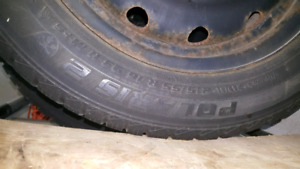 Snow tires for Elantra  215.55.R.16  80.00 firm