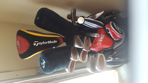 Great deal on Golf clubs (right handed) and bag