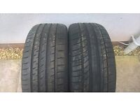 Tyres 245/45/18 x 2