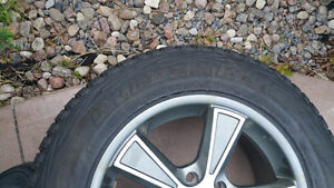 Pneu Hiver Winter tire with mags