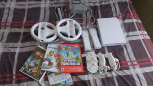 Wii with games