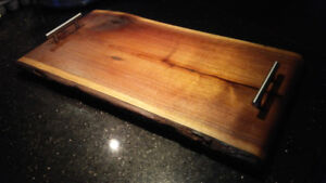 "Beautiful Walnut 4 foot charcuterie board 48"" by 12"""
