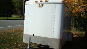 2008 5x10 enclosed trailer with side and barn doors