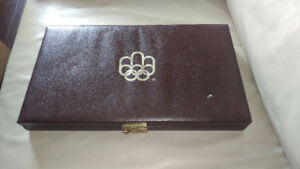 1976 Canadian Montreal Olympic Silver Coin Set. 28 Coins.