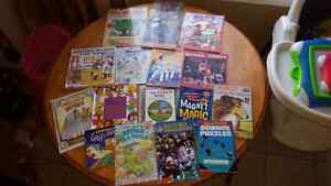 Lots of children books