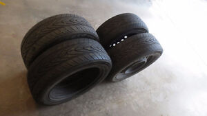 Tire Set with Rims
