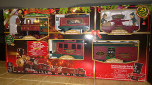 Large train Santa Pole express with remote