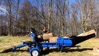 Firewood Processing \ Wood Splitting