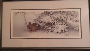 """Michael Dumas """"Wrapped in Winter"""" #20/500 Cobourg"""
