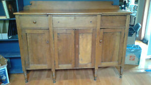 Antique sideboard - beautiful, solid historical piece