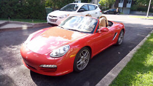 2009 Porsche Boxster Convertible Red / Rouge Vif