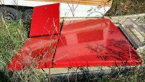 Red Tonneau cover - came off a Dodge Dakota