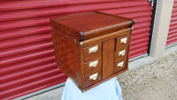 Antique Globe Wernicke  stacking file cabinet RARE !