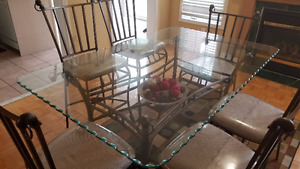 REDUCED PRICE!!!!!Dining  Table Sets -  4 STD + 2 HIGH CHAIRS