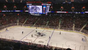 Vancouver Canucks vs Columbus Blue Jackets - Mar 24th 2 Tickets