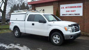 2012 Ford F-150 XLT Supercab with Service Box and Slide Out Bed