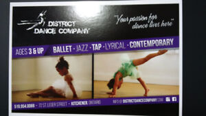 District Dance Company - Kinder & Pre-Mini Dance Classes