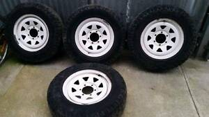 Toyota Hilux wheels 4x4 ROH Tottenham Maribyrnong Area Preview