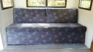 Couch for trailer