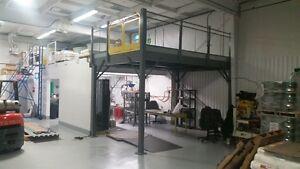 Mezzanine Storage Platform – Create EXTRA SPACE