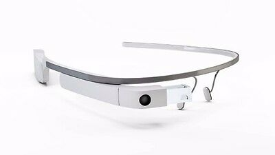 Google Glass Latest Explorer Edition - Cotton (White) + Shades