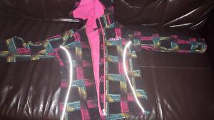 girls lined jacket size 7/8