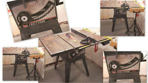 "SEARS CRAFTSMAN 10"" TABLE SAW------WORKS EXCELLENT!"