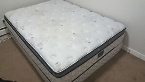 Double Size Mattress and Boxspring