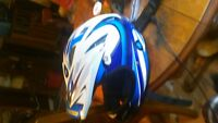 I have a mint new kids or small adults 661 racing helmet
